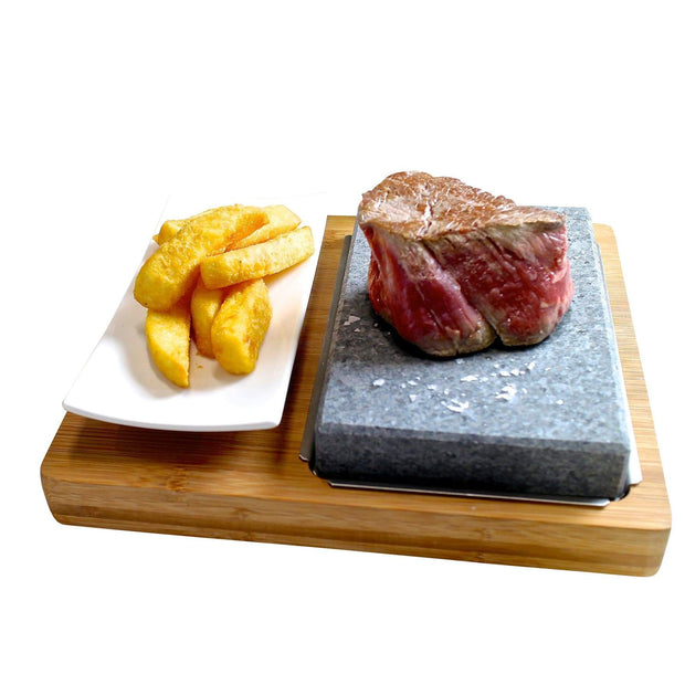 Black Rock Grill steak stones Black Rock Grill Lava Steak Stones Set