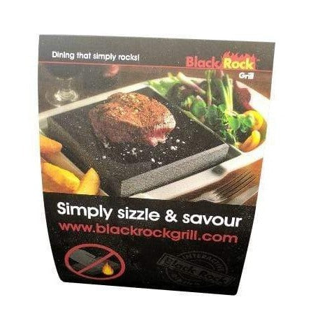 Black Rock Grill Table talkers for restaurant tables -Pack of 20