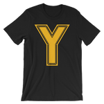 Y Logo Mens Short-Sleeve T-Shirt