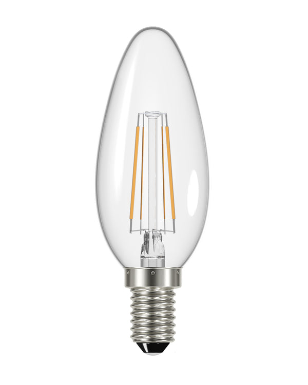 Energizer LED Filament Candle Bulb E14 2700K - pod lamps