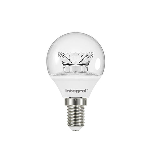 Golf Ball LED Light Bulbs Clear
