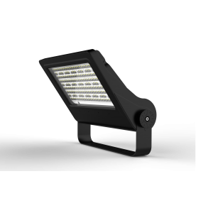 LED Hi-Court 100W 5000K Black Uplighting / Billboard Optic - Pod Lamps
