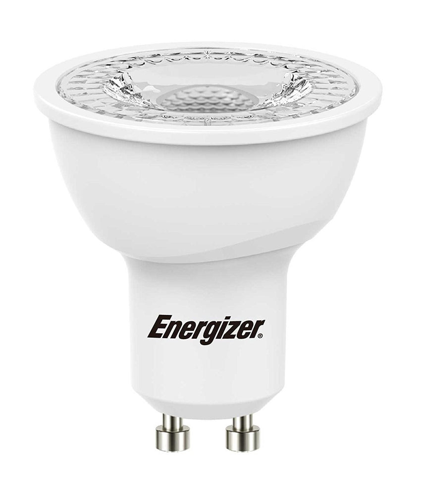 Energizer GU10 5.2W LED 6500K Day Light White Energy Saving Dimmable Spotlight (Pack of 4) - Pod Lamps