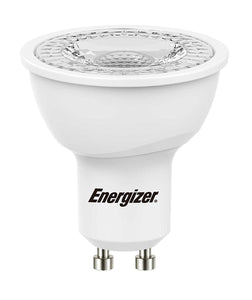 Energizer GU10 5.5W LED 4000K Cool White Energy Saving  Dimmable Spotlight - Pod Lamps