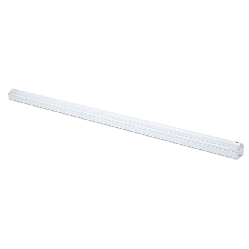 LED Batten 5ft Single 60W 4000K 6900lm 5-Year W - Pod Lamps