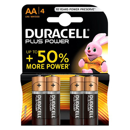 Duracell Plus AA Battery - Pod Lamps
