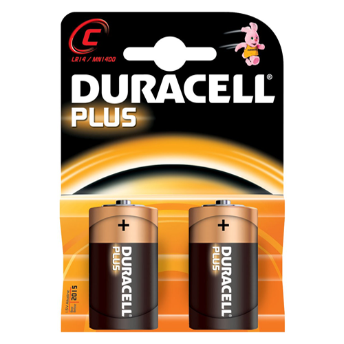 Duracell Plus C Battery - Pod Lamps