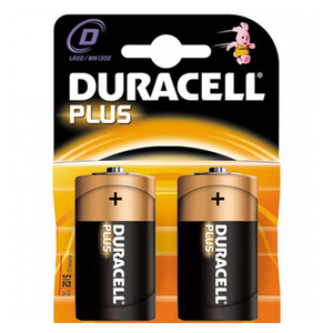 Duracell Plus D Battery - Pod Lamps