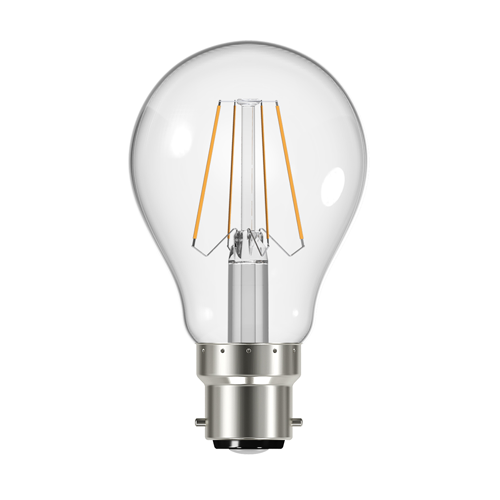 GLS Filament LED Light Bulb 4.3W B22 2700K - Pod Lamps