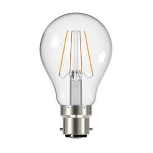 GLS Filament LED Light Bulb 8W B22 2700K - Pod Lamps