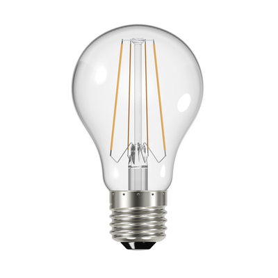 Energizer Clear LED Filament GLS Bulb 6.2W E27 2700K - Pod Lamps