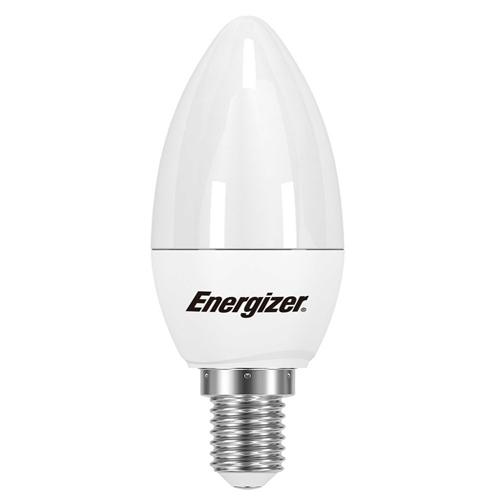 Energizer Pearl LED Candle 5.9W E14 6500K Day light White - Pod Lamps