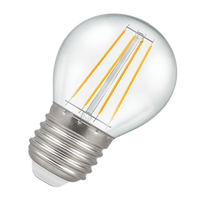 Dimmable Golf Ball Filament LED Light Bulb 4.5W E27 2700K - Pod Lamps