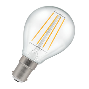 Dimmable Golf Ball Filament LED Light Bulb 3.5W B15 2700K - Pod Lamps