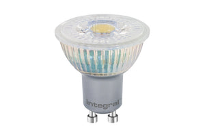 Integral GU10 4.7W LED 4000K Cool White Energy Saving Spotlight - Pod Lamps