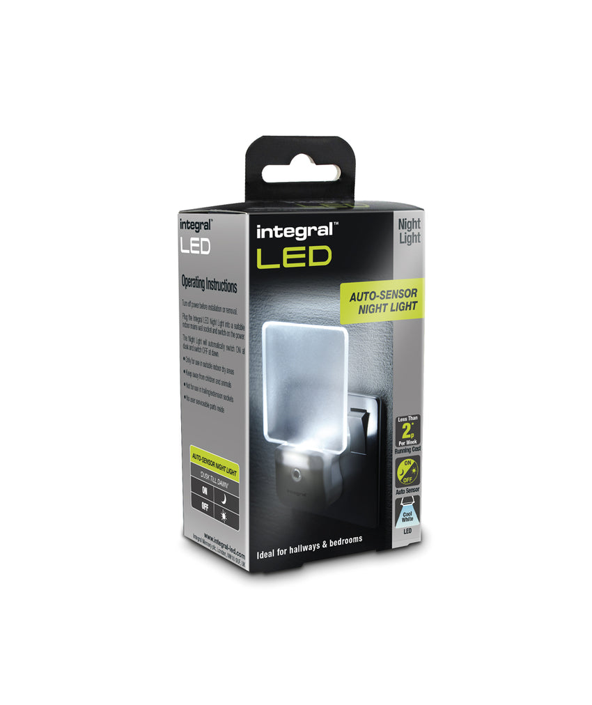 Integral-LED 13Amp Auto Sensor Night Light - Pod Lamps