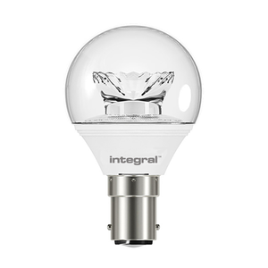 Integral LED Clear Golf Ball 6W B15 2700K - Pod Lamps