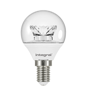 Integral LED Clear Golf Ball 6W E14 2700K - Pod Lamps