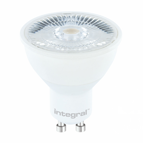 Integral GU10 5.5W LED 2700K Warm White Dimmable (pack of 5) - Pod Lamps