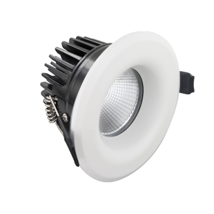 Integral LED Fire Rated Downlight Dimmable 9W 3000K 640lm 55° - Pod Lamps
