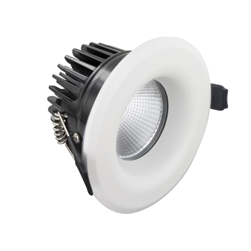 Integral LED Fire Rated Downlight Dimmable 9W 4000K 640lm 36° - Pod Lamps