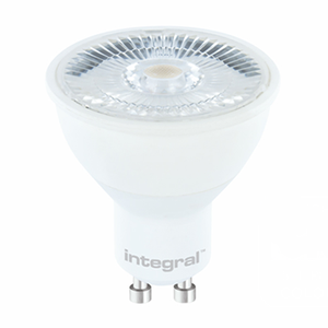 Integral LED GU10 4.5W 2700K Energy Saving Spotlight Box of 10 - Pod Lamps