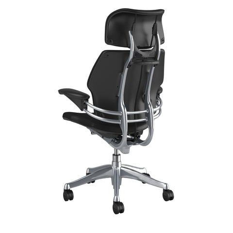 Humanscale Freedom Headrest Chair in Leather - Chair Dinkum