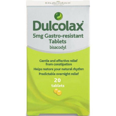 Dulcolax 20 Tablets