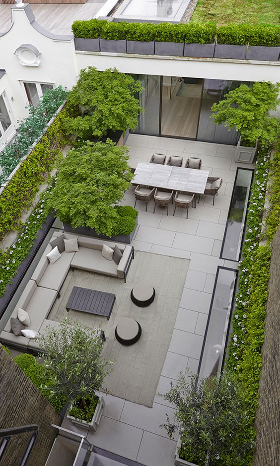 Bloom Flowers Manhattan Terrace Garden Ideas