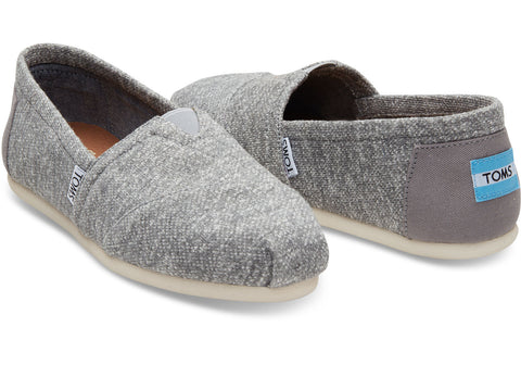 TOMS Grey Marl Pumps