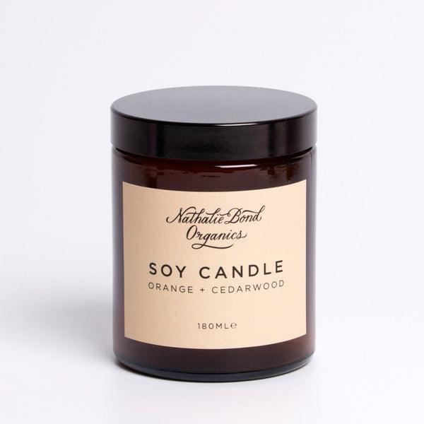 Nathalie Bond Organics Soy Candles