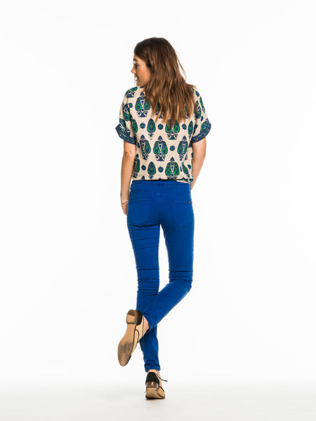 Maison Scotch - La Bohemienne - Vintage Pants - Electric Blue, Jeans, Maison Scotch, - AIRR Clothing