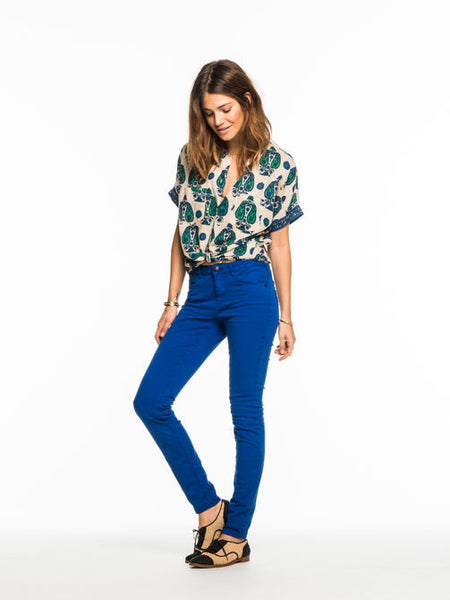 Maison Scotch - La Bohemienne - Vintage Pants - Electric Blue