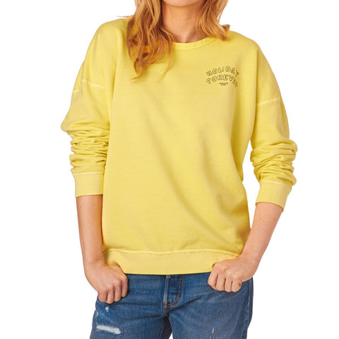 Maison Scotch Yellow Sweat Top
