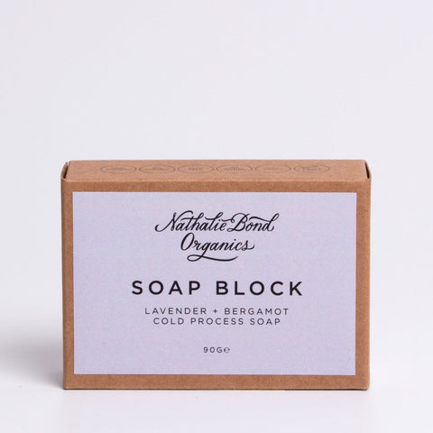 Nathalie Bond Organics Soap Blocks