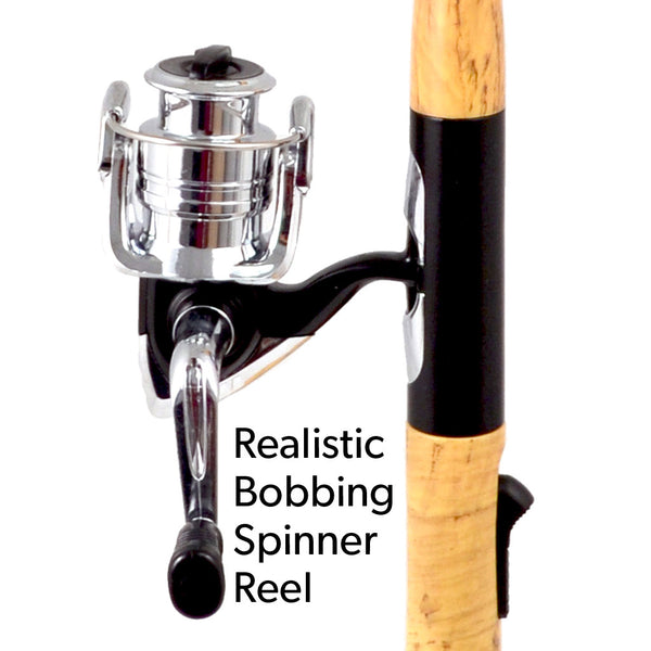 Open Face Fishing Pole BBQ Lighter - Single Display (16 Units per Display)