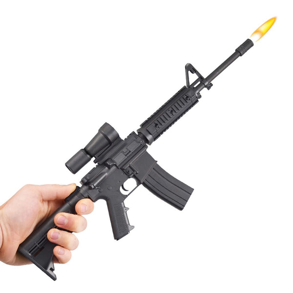 AR-15 Rifle BBQ Lighter - In Hand