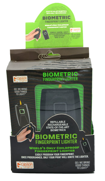 Biometric Fingerprint Lighter Gift Box - 6ct Display