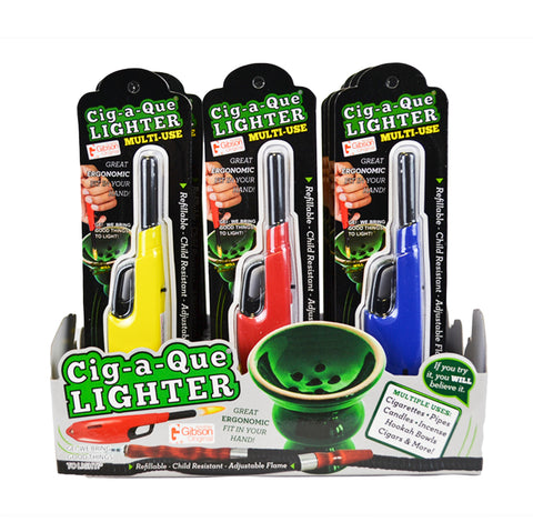 Cig-A-Que® Lighter - Single Display (18 Units per Display)