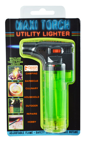 Maxi Torch Utility Lighter - Single Display (6 Units per Display)