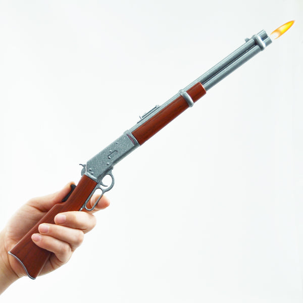 Lever Action Rifle BBQ Lighter - In Hand