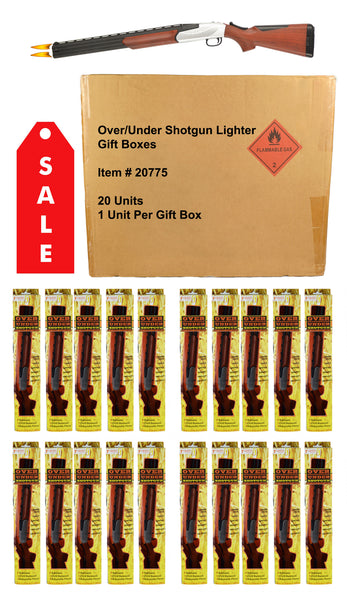 Over/Under Shotgun BBQ Lighter - Gift Box