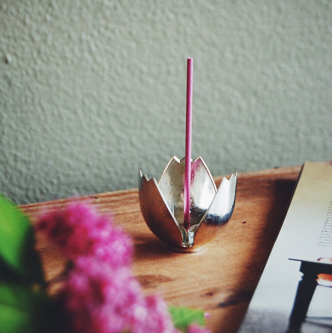 Portaincenso tulipano / incense holder - tulip