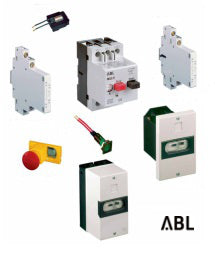 ABL Manual Motor Starter and accessories
