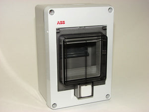 4 Mod Plastic Enclosure, ABB 12644, IP55