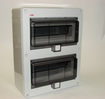 ABB  12652, 20 Mod Plastic Enclosure, IP55