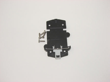 SCHUKO socket outlet mounting plate ABL 1461SB, surface mount housing for socket 1461, 1561-2, 1661