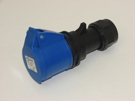 Industrial CEE Socket 3P 16A 240V IP44 Screwless ABL Code K31SL20