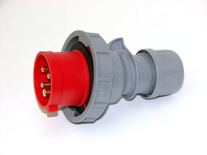 Industrial Plug 4P 16A 400V IP67 (Screwless) ABL Code S41SL35