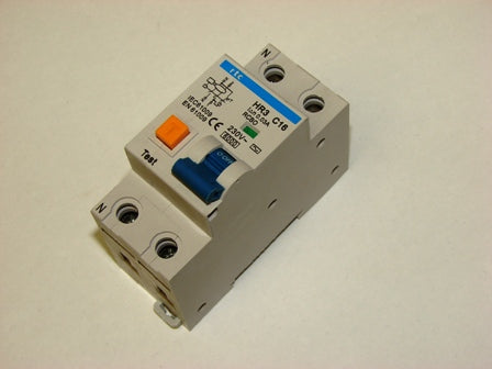 RTC  HR3-2PC**   2 pole RCBO